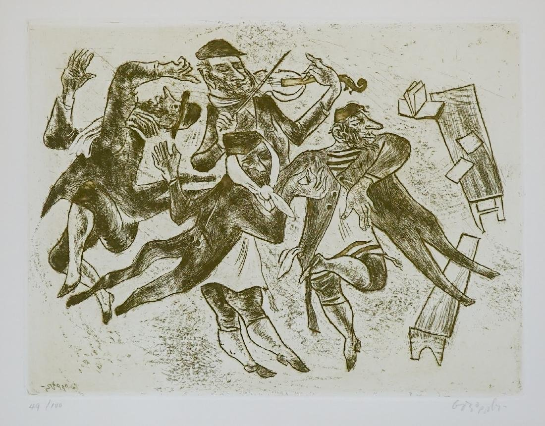 William Gropper Etching
