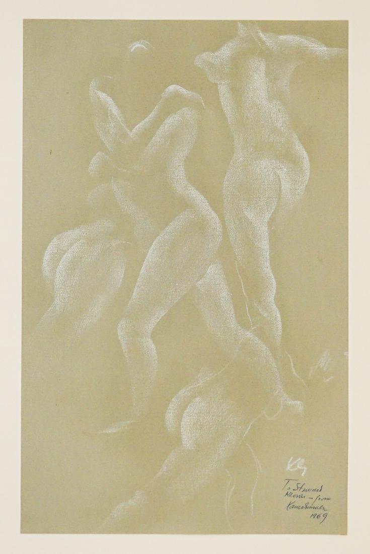 Xavier Gonzalez (1898-1993) Chalk/Paper
