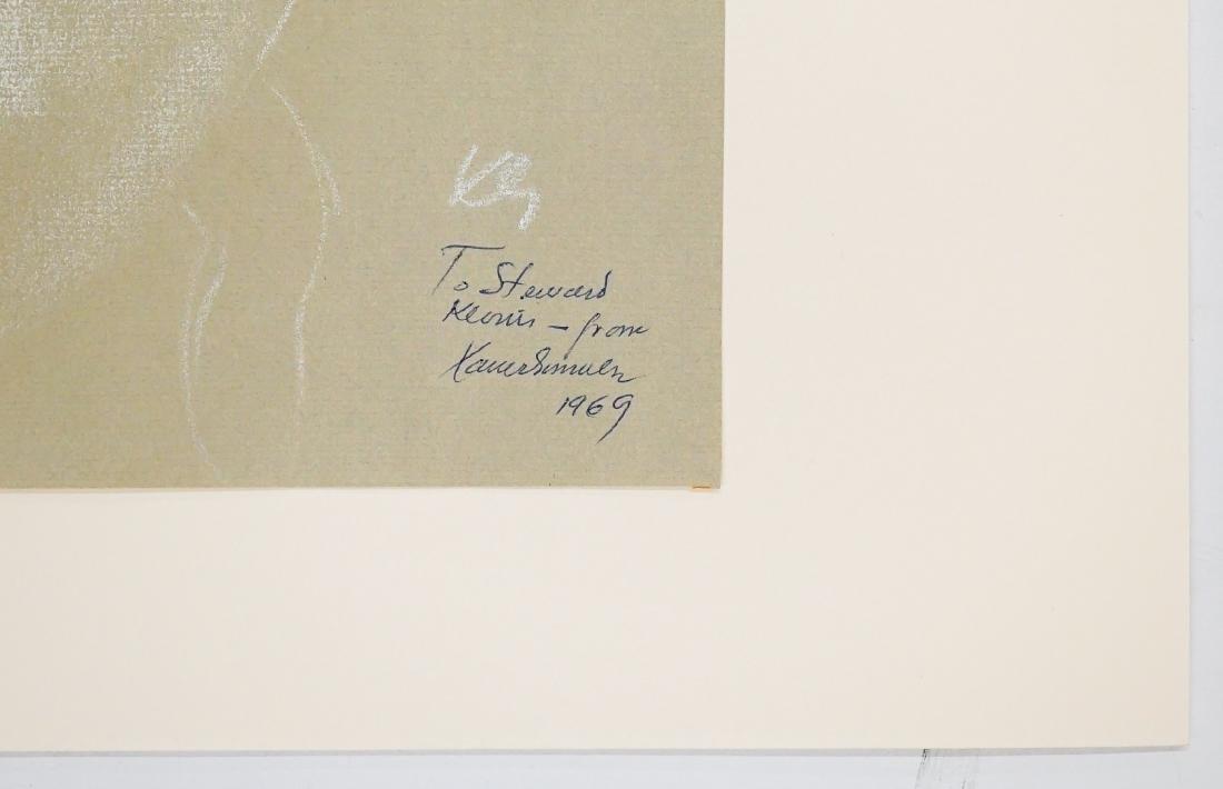 Xavier Gonzalez (1898-1993) Chalk/Paper - 3