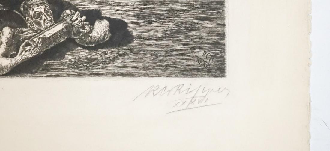 Rudolph Charles von Ripper (1905-1960) Etching - 3
