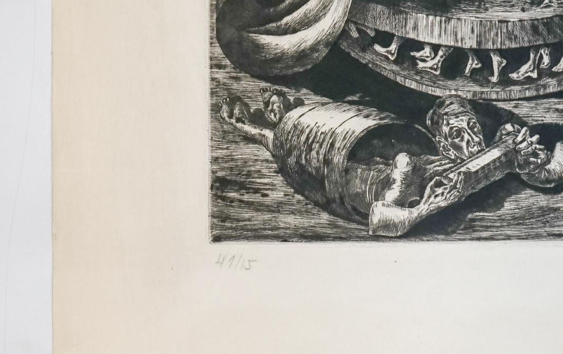 Rudolph Charles von Ripper (1905-1960) Etching - 4