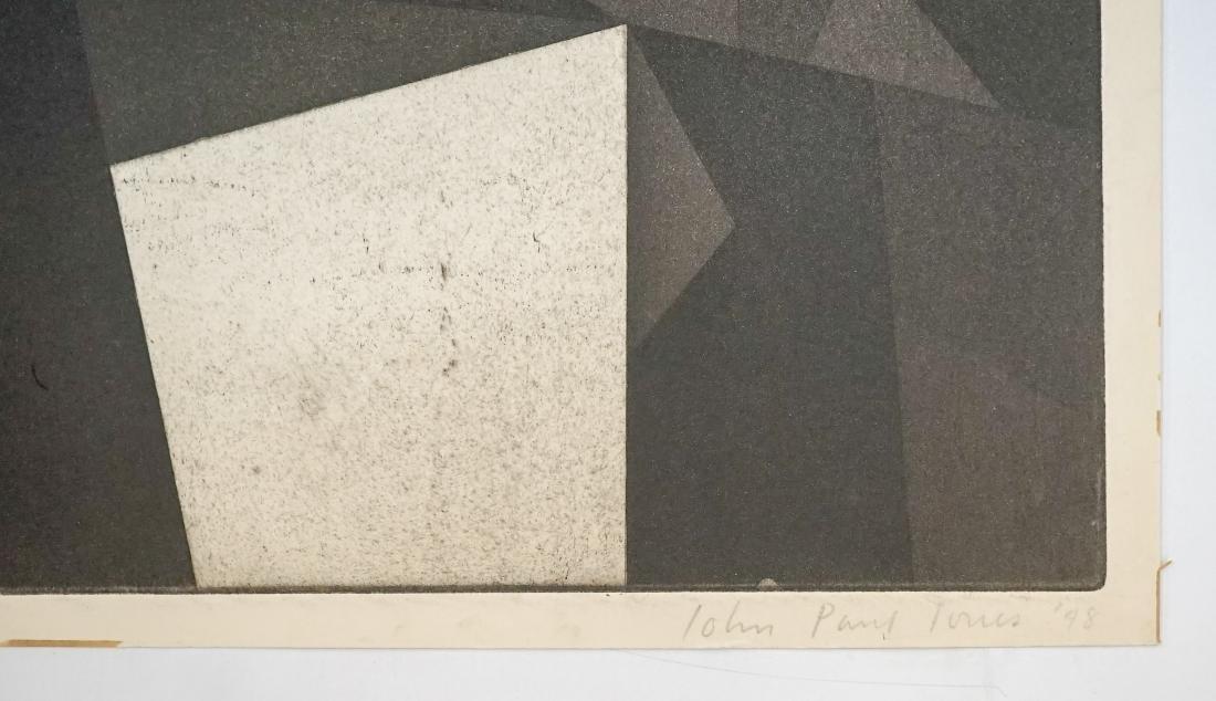 John Paul Jones (1924-1999) Proof Etching - 4