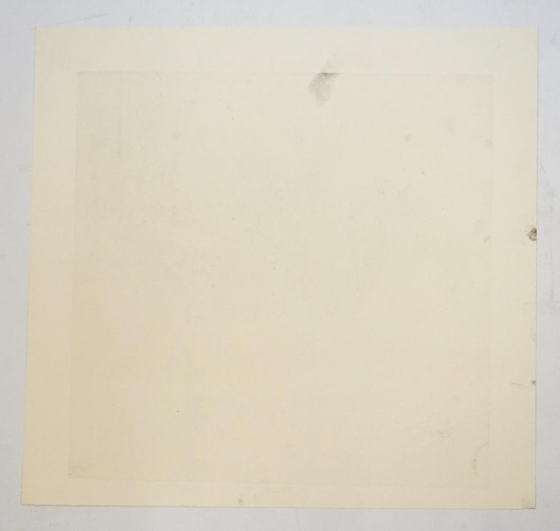 Evan Lindquist (Arkansas born 1936) Large Etching - 4