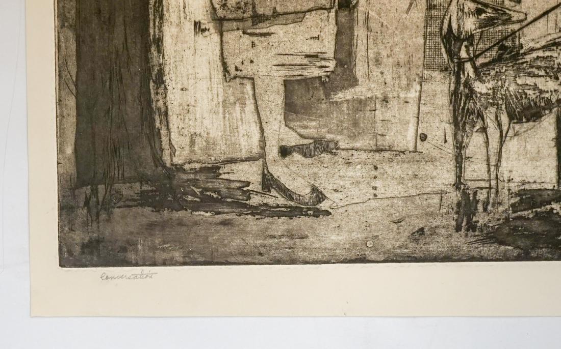 Phyllis Sherman Mid-Century Large Etching - 3
