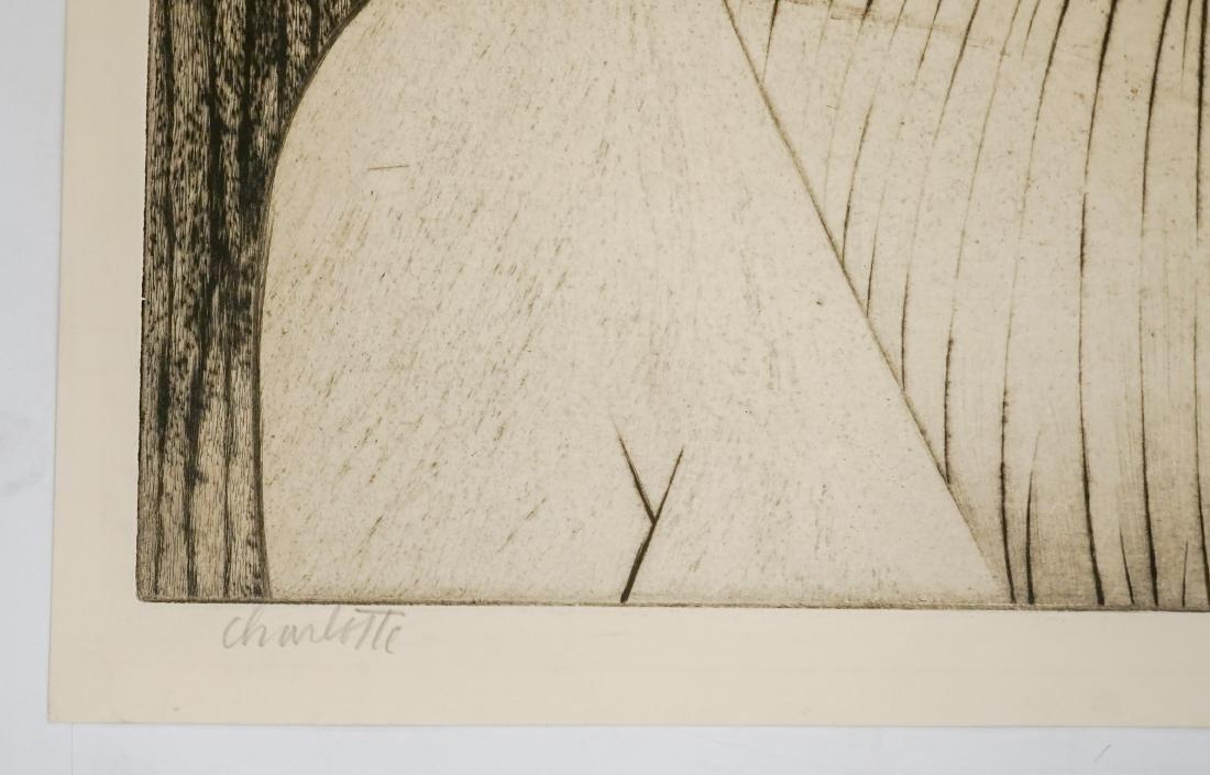 John Paul Jones (1924-1999) Large Etching - 3