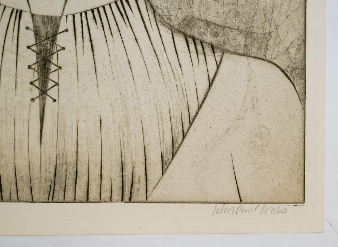 John Paul Jones (1924-1999) Large Etching - 4