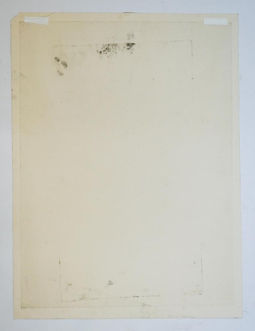 John Paul Jones (1924-1999) Large Etching - 5