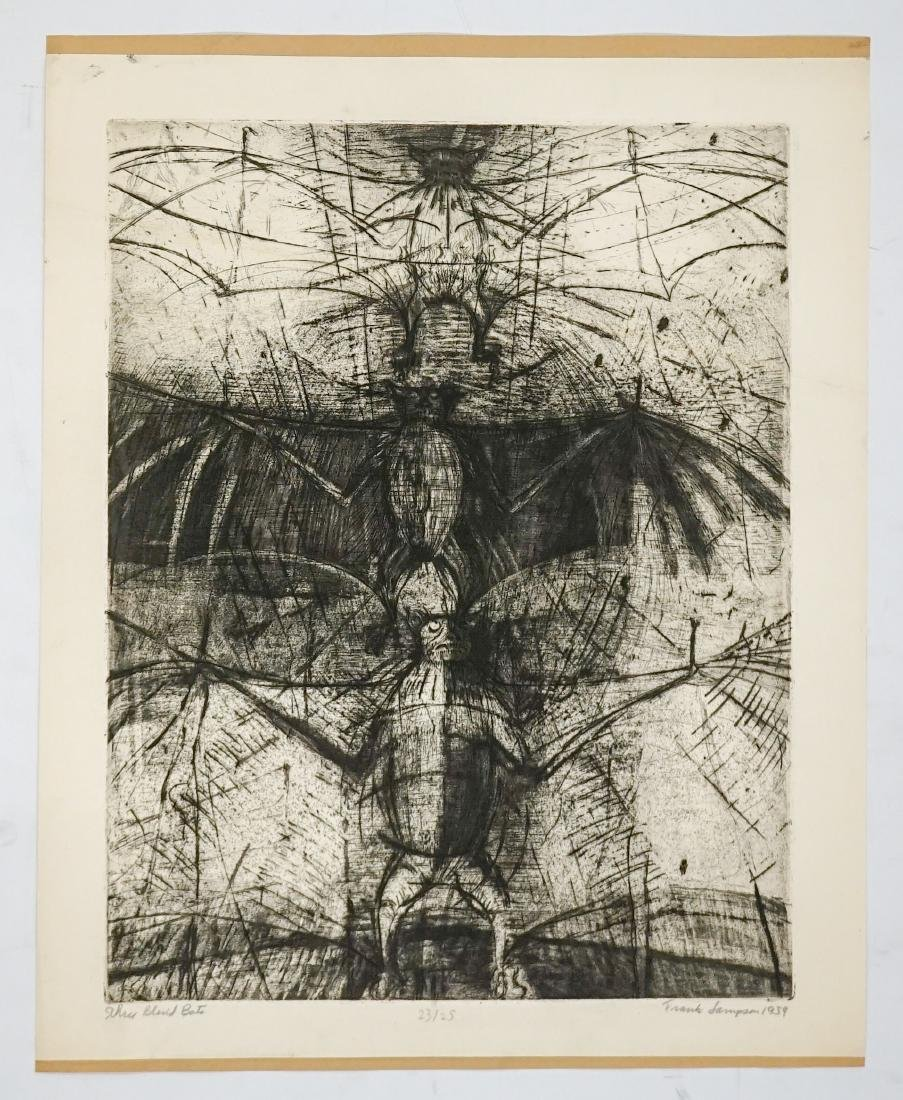 Frank Sampson (Colorado born 1928) Large Etching - 2