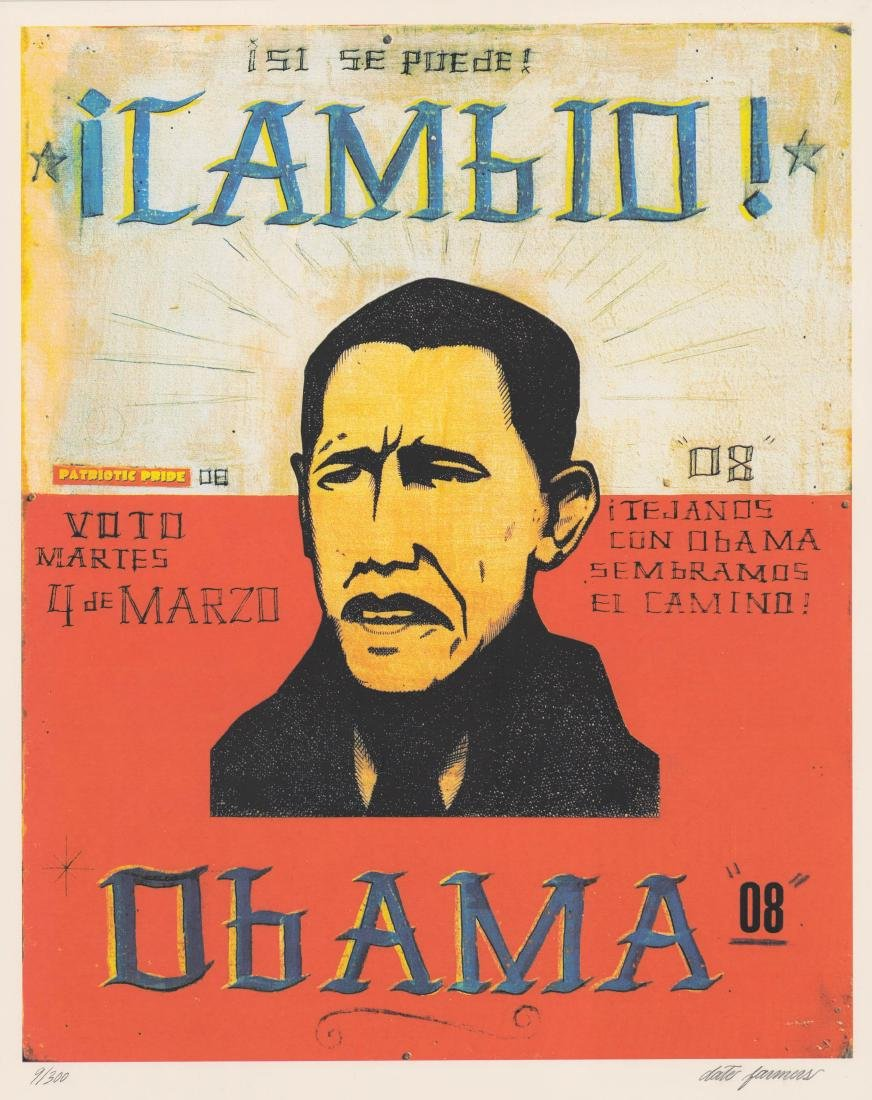Cambio Obama Date Farmers Signed & Numbered