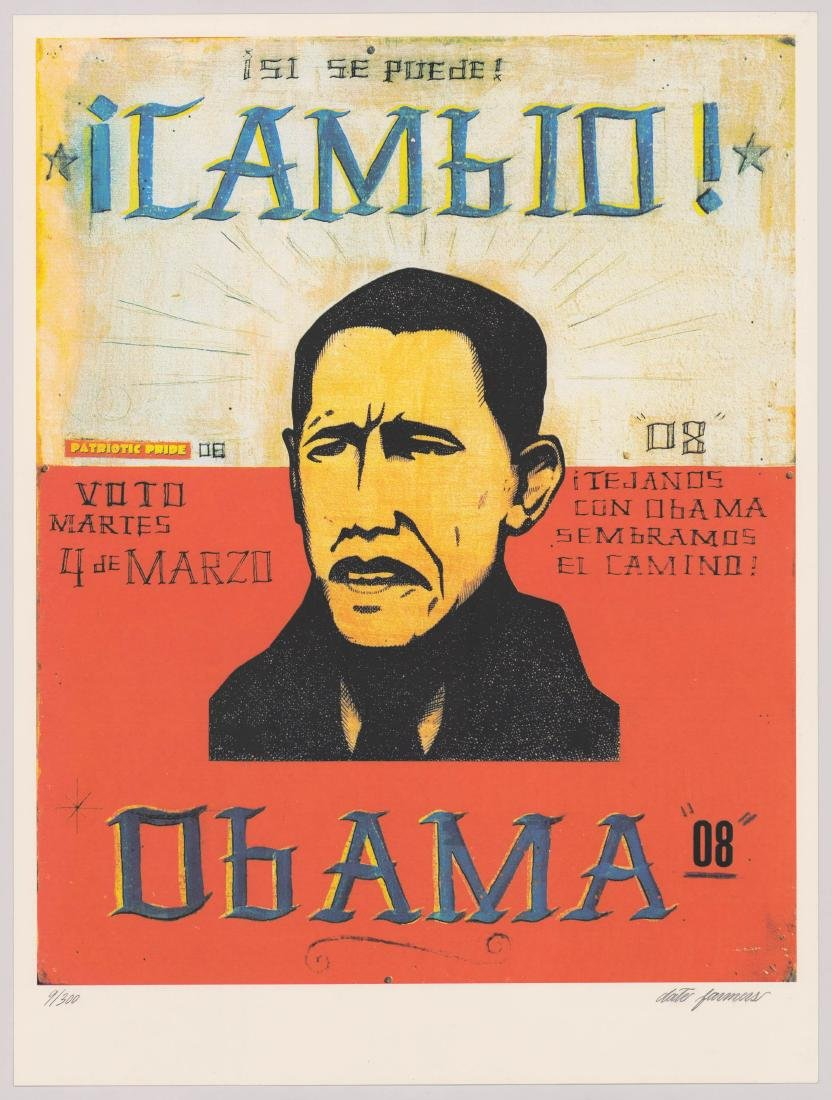 Cambio Obama Date Farmers Signed & Numbered - 2