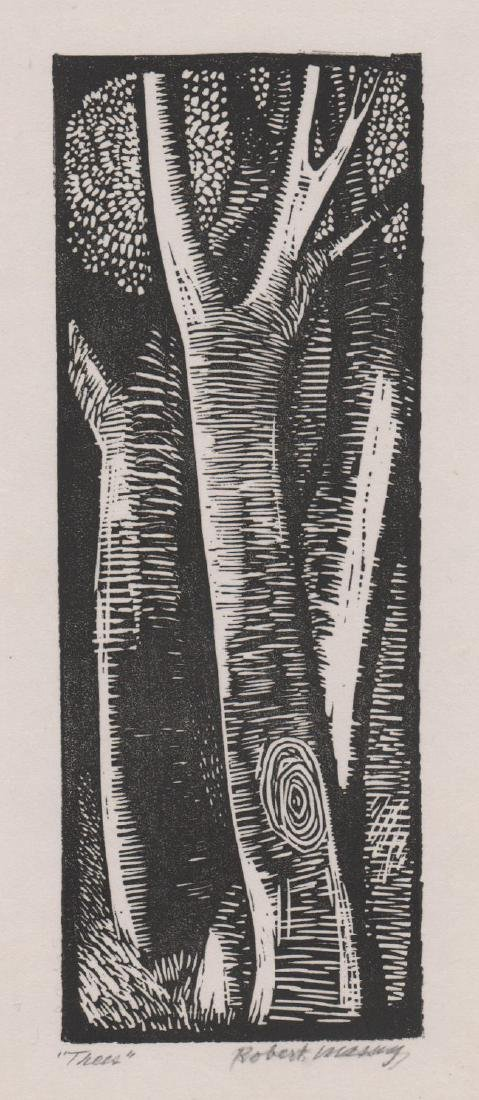 Robert Massey Woodcut