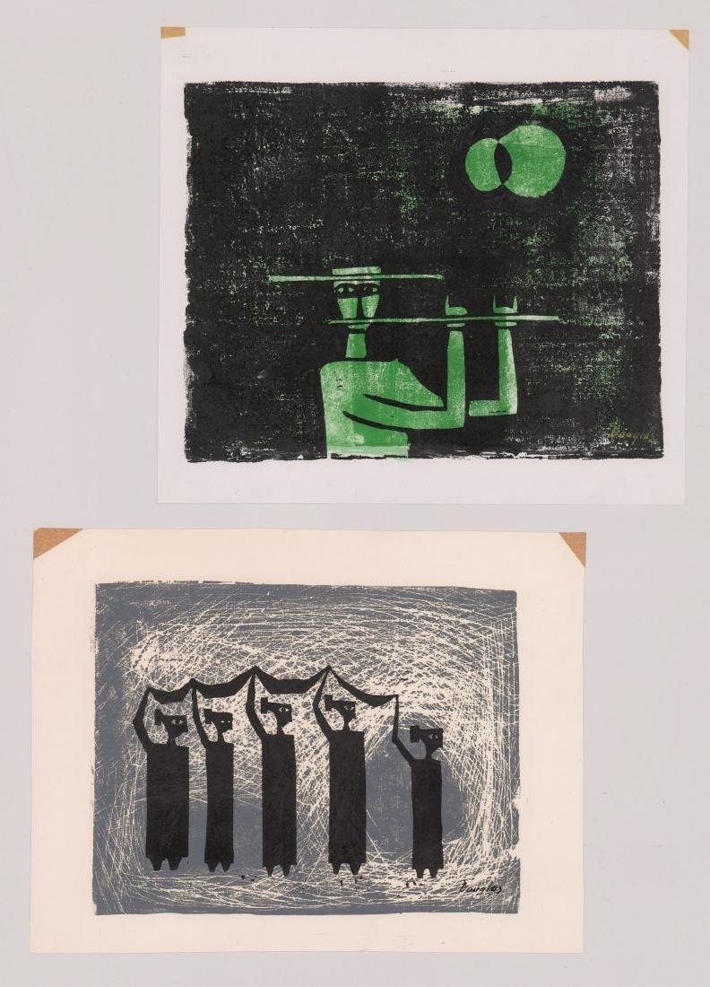 Charles Douglas (Texas, 20th Century) Lithographs