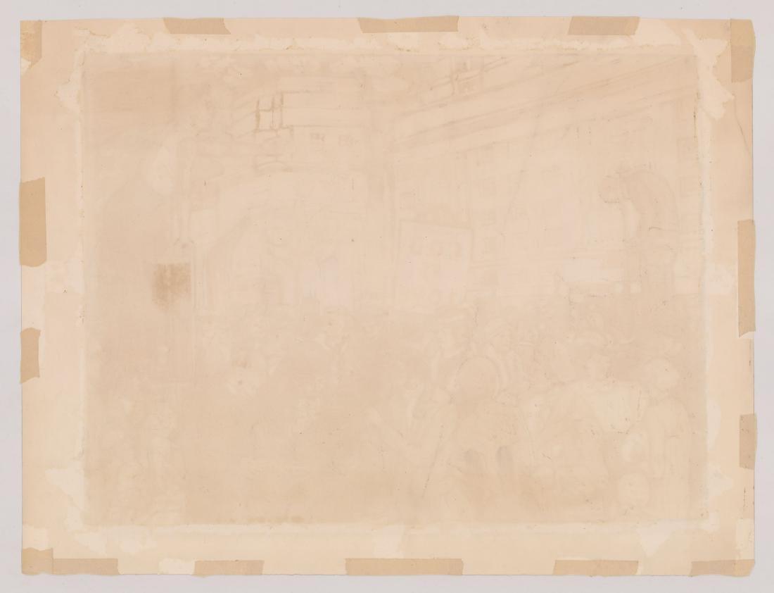 John Mennie Hyde Park Lithograph - 5