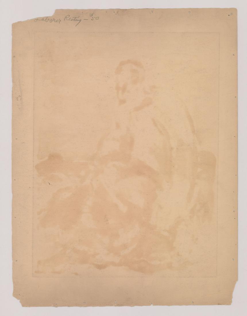Eugene Higgins Monotype - 4