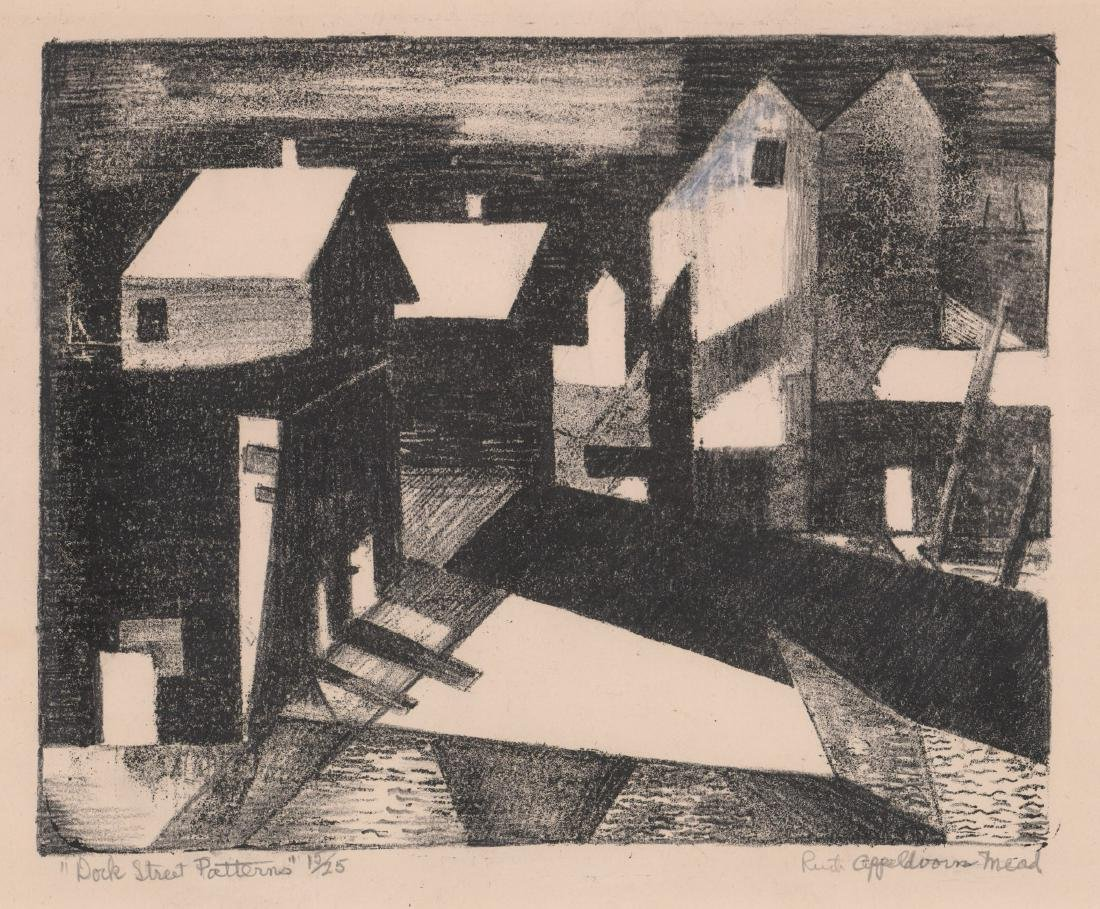 Ruth Appeldoorn Mead Early Lithograph