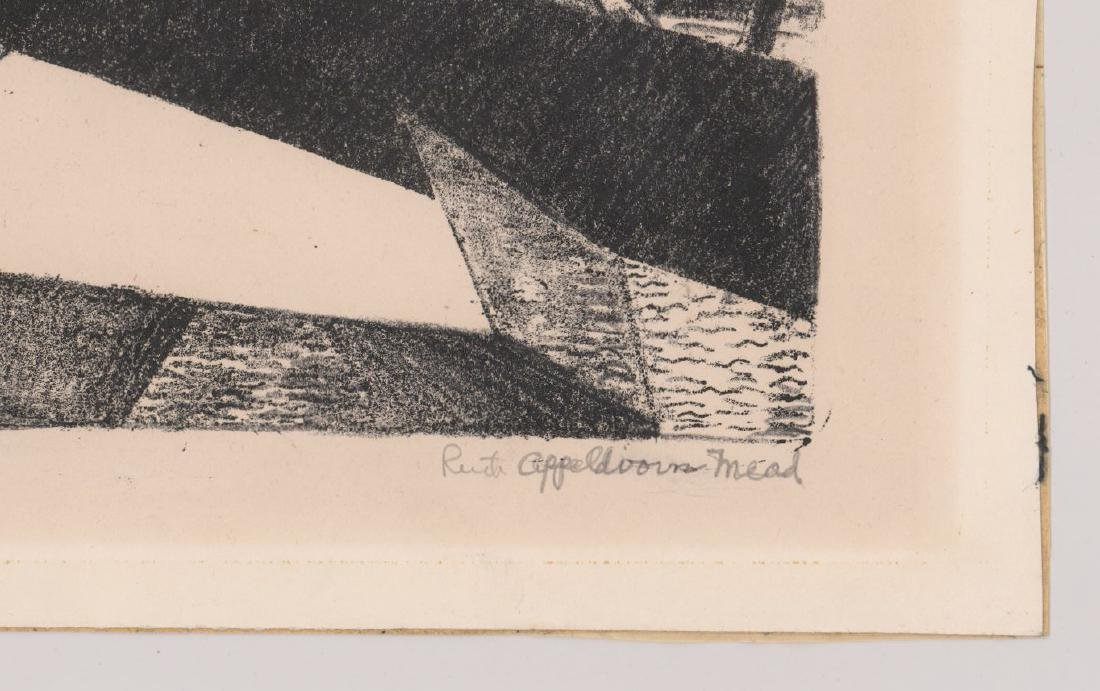 Ruth Appeldoorn Mead Early Lithograph - 3