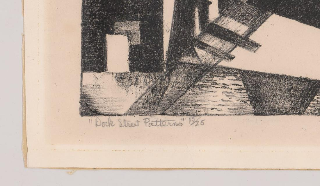 Ruth Appeldoorn Mead Early Lithograph - 4