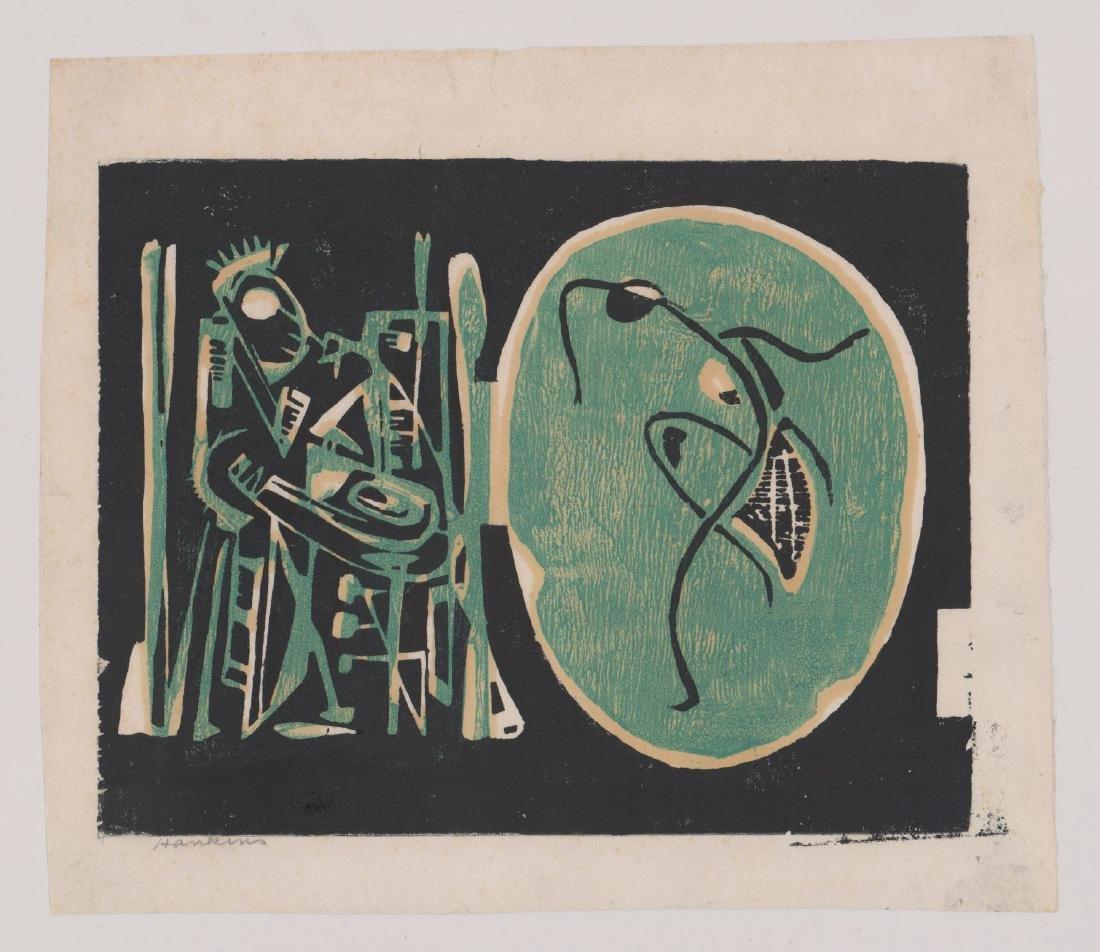 Abraham Hankins Lithograph (1903-1963) - 2