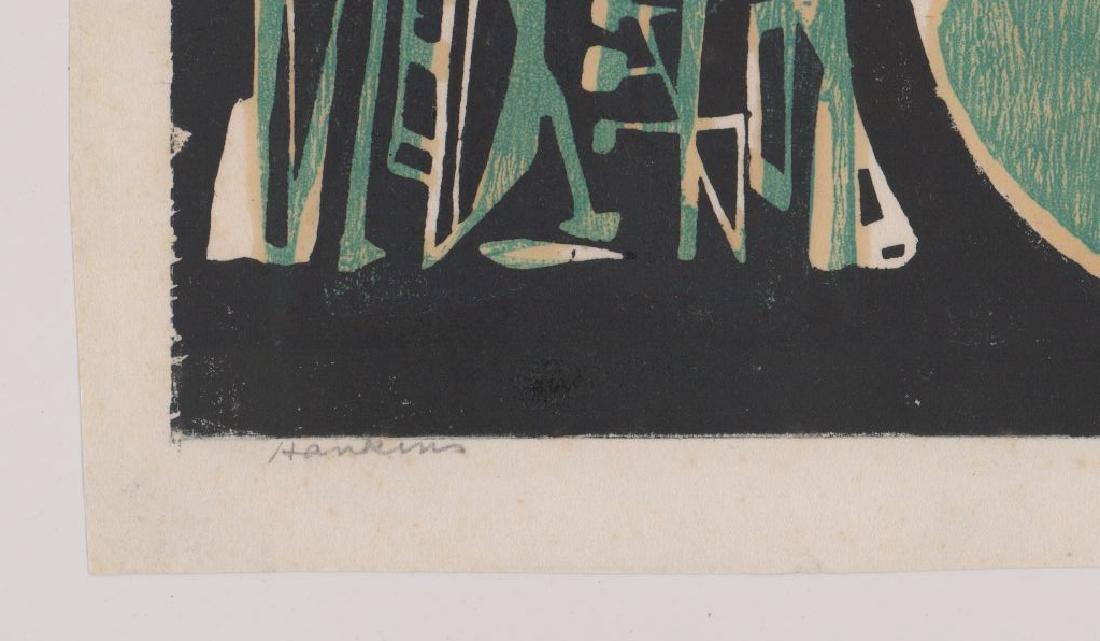 Abraham Hankins Lithograph (1903-1963) - 3