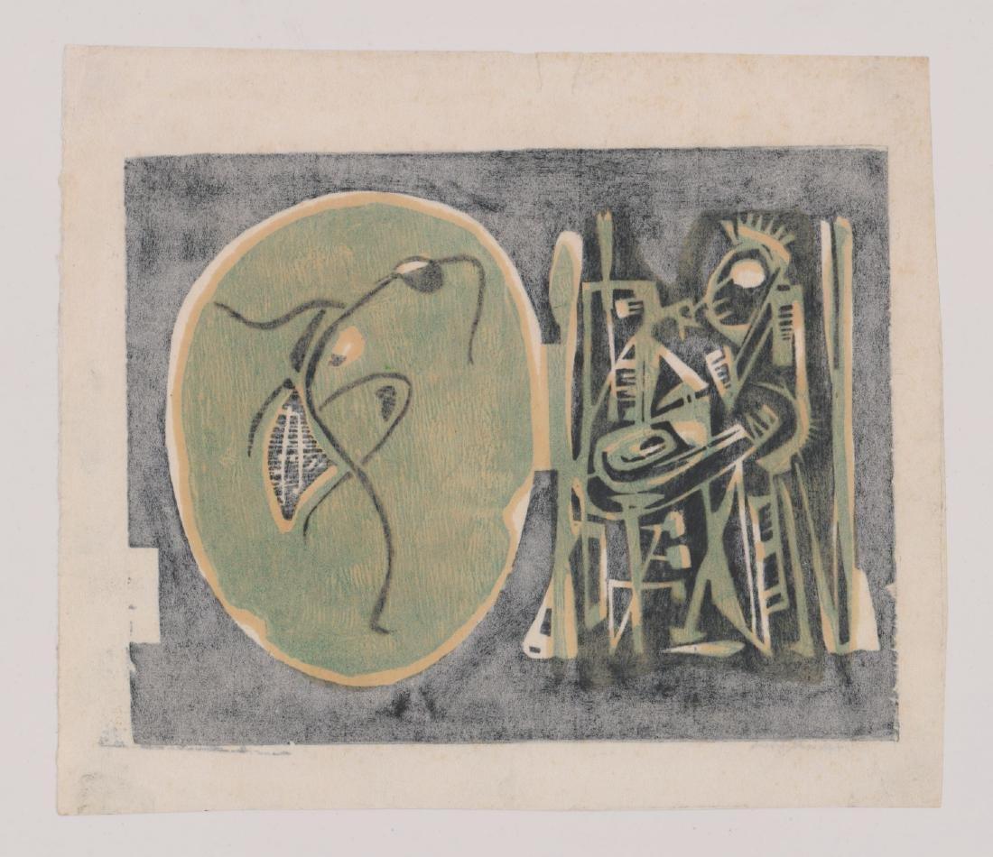 Abraham Hankins Lithograph (1903-1963) - 4