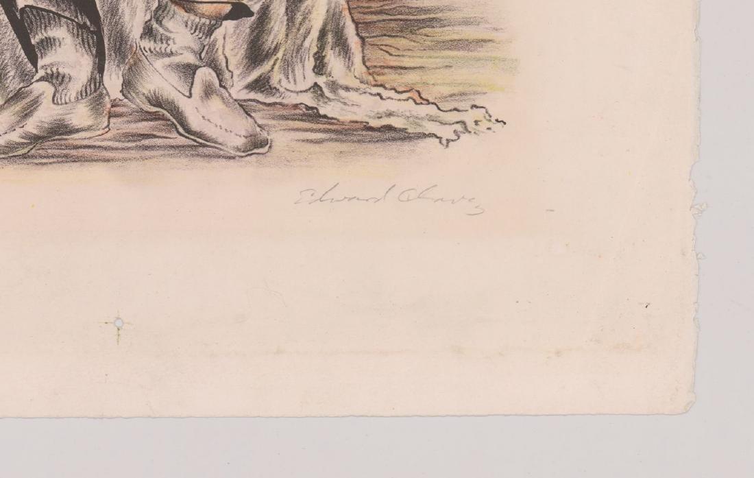 Edward Chavez Lithograph [El Mariachi] - 3