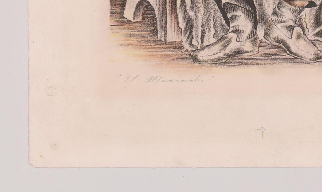 Edward Chavez Lithograph [El Mariachi] - 4