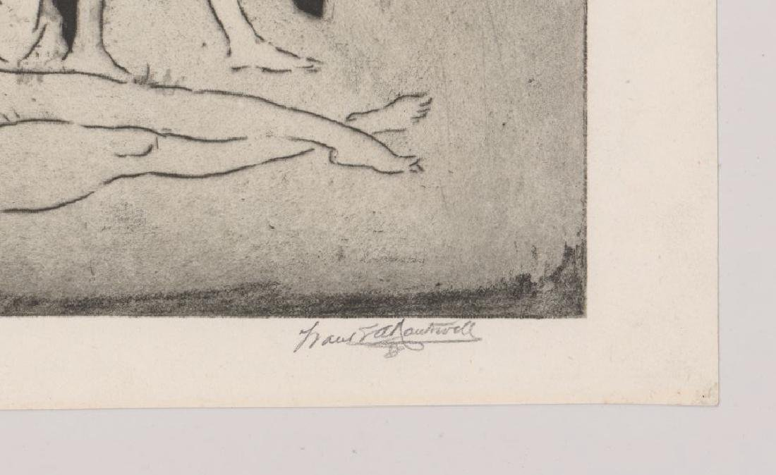 Frank Nankivell Etching - 3