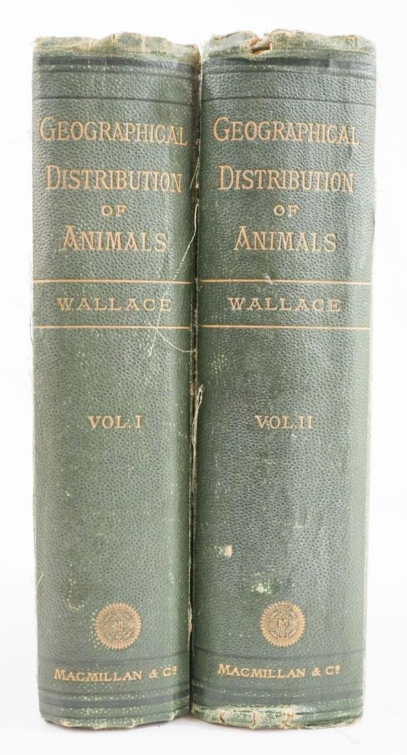 Geographical Distribution of Animals Vol I & II
