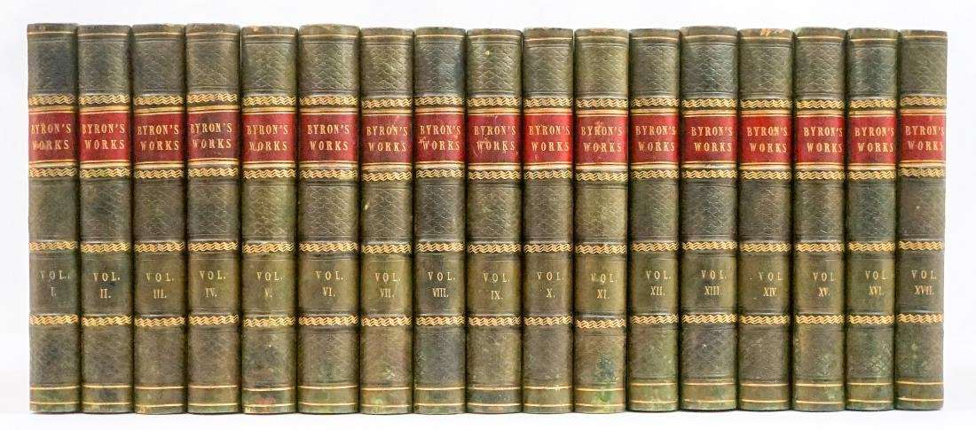 Byron's Works 14 Volumes Works, 3 Volumes The Life