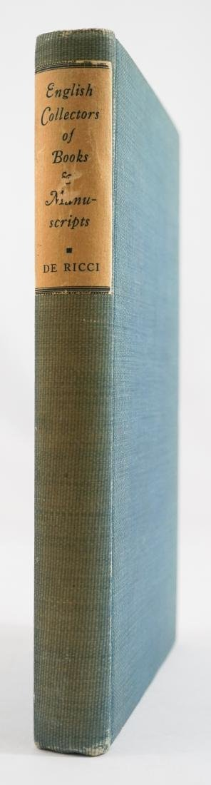 English Collectors of Books & Manuscripts
