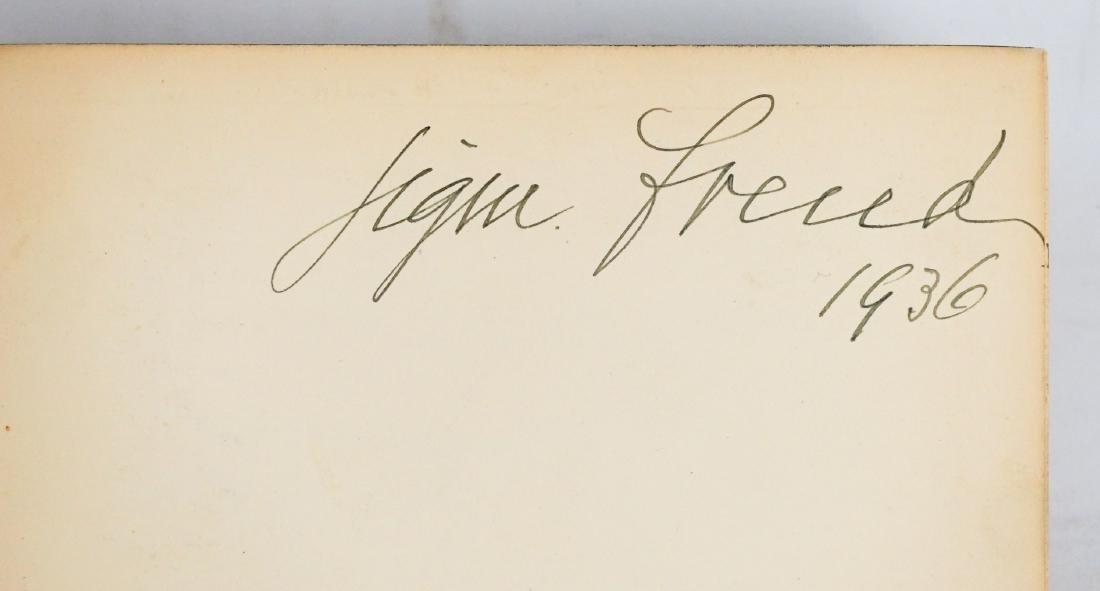Gesammelte Schriften by Sigm. Freud (vol 1 signed)