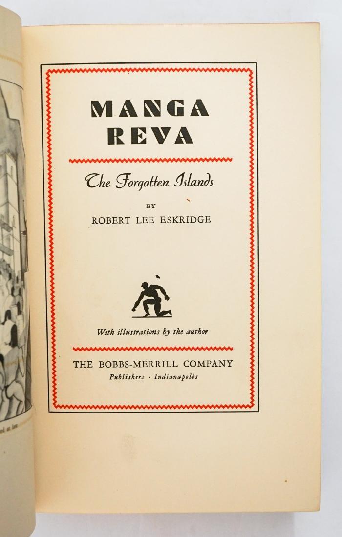 Manga Reva by Robert Lee Eskridge
