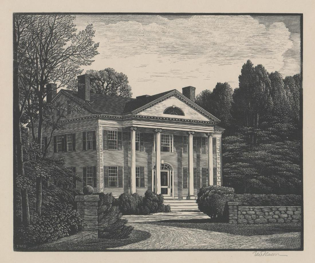 Thomas Nason Wood Engraving [An American Home]