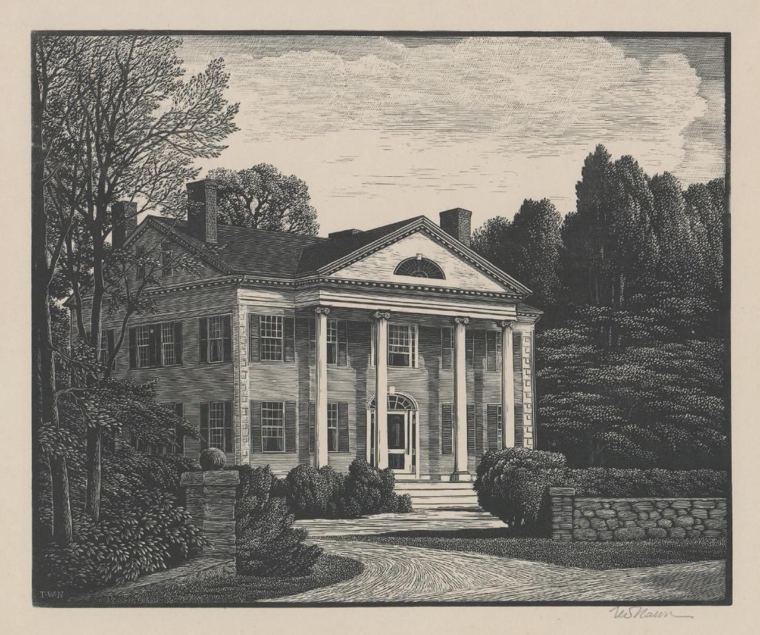 Thomas Nason Wood Engraving [An American Home]