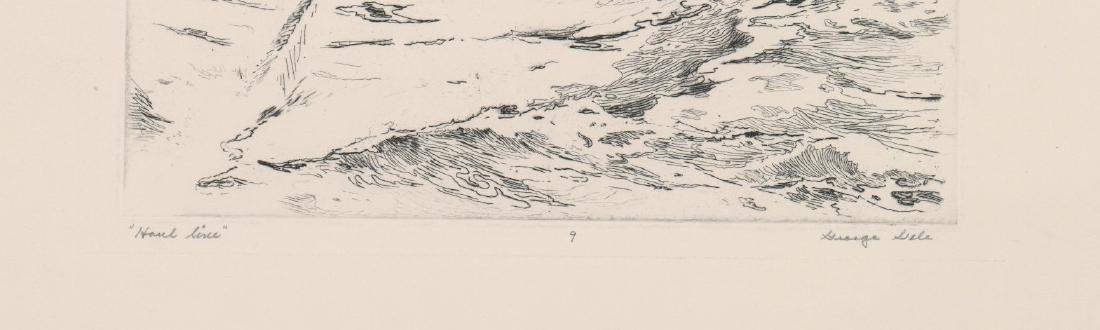 George Gale Etching [Haul Line] - 3