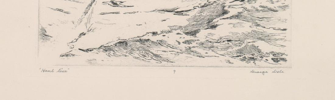 George Gale Etching [Haul Line] - 3