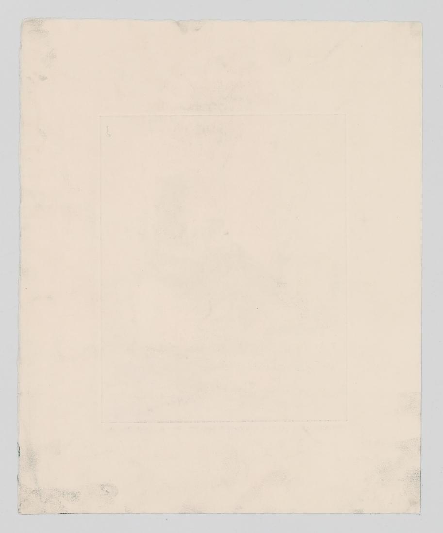 George Gale Etching [Haul Line] - 4