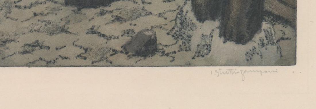 Jaromir Stretti-Zamponi (1882-1959) Etching - 3