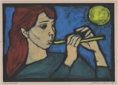 Irving Amern Woodcut Music