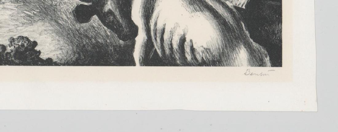 Thomas Hart Benton Original Lithograph - 3