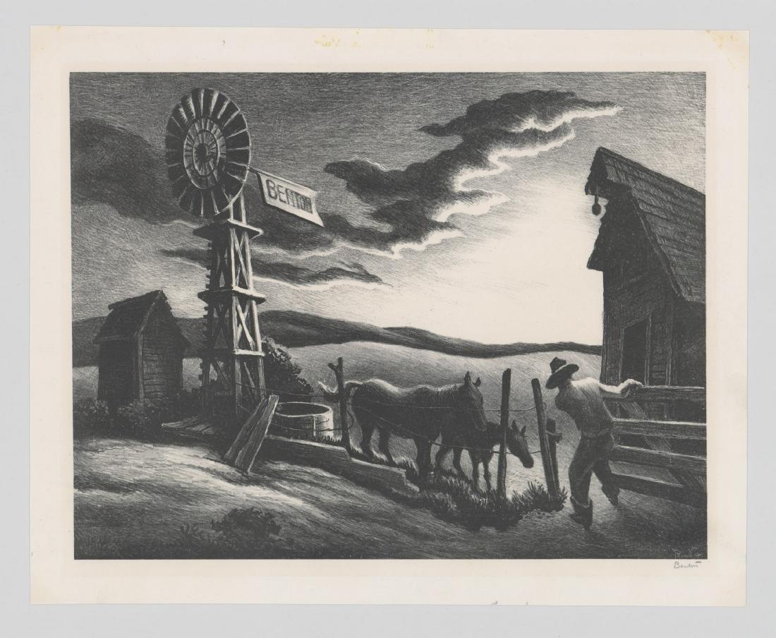 Thomas Hart Benton Original Lithograph - 2