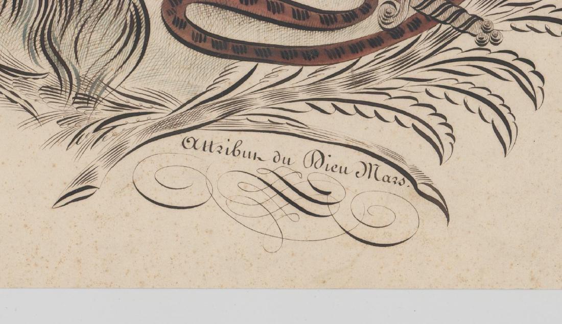 An Antique Spencerian Pen & Ink Drawing - 3