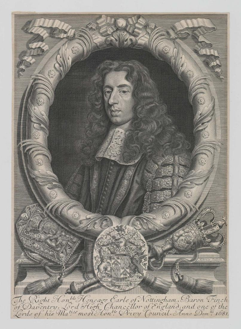 Robert White (1645 - 1703) Engraving Dated 1681