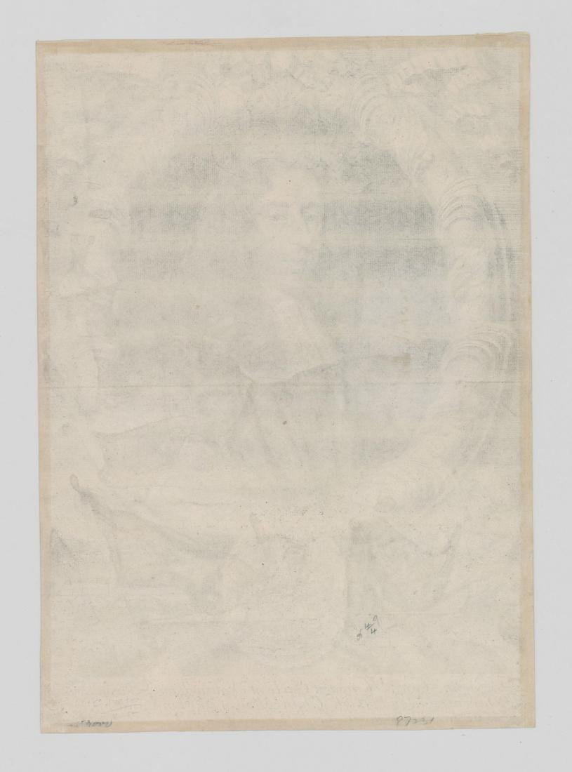 Robert White (1645 - 1703) Engraving Dated 1681 - 2