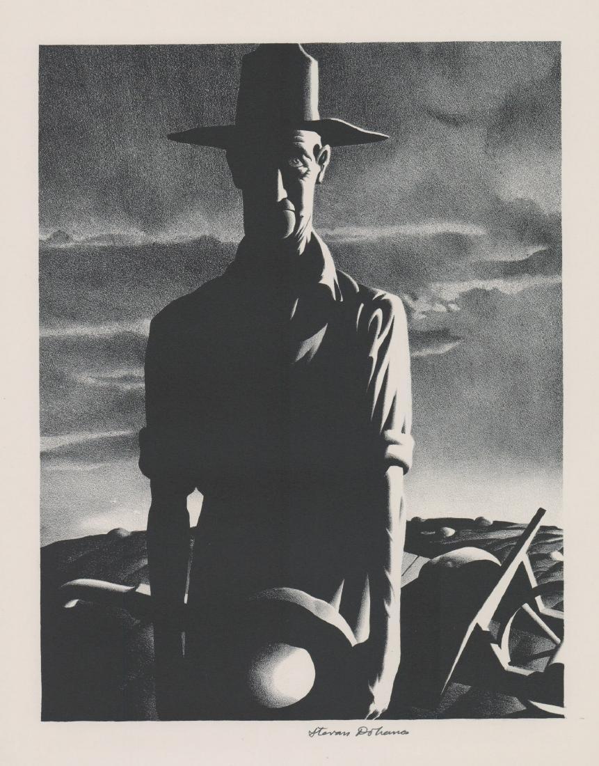 Stevan Dohanos (1907 - 1994) Lithograph