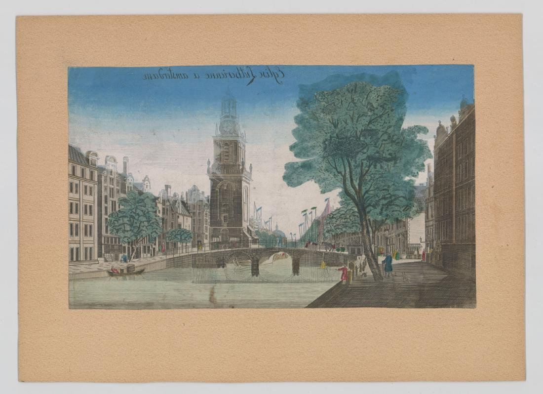 Early Old Lutheran Church Amsterdam Engraving - 2