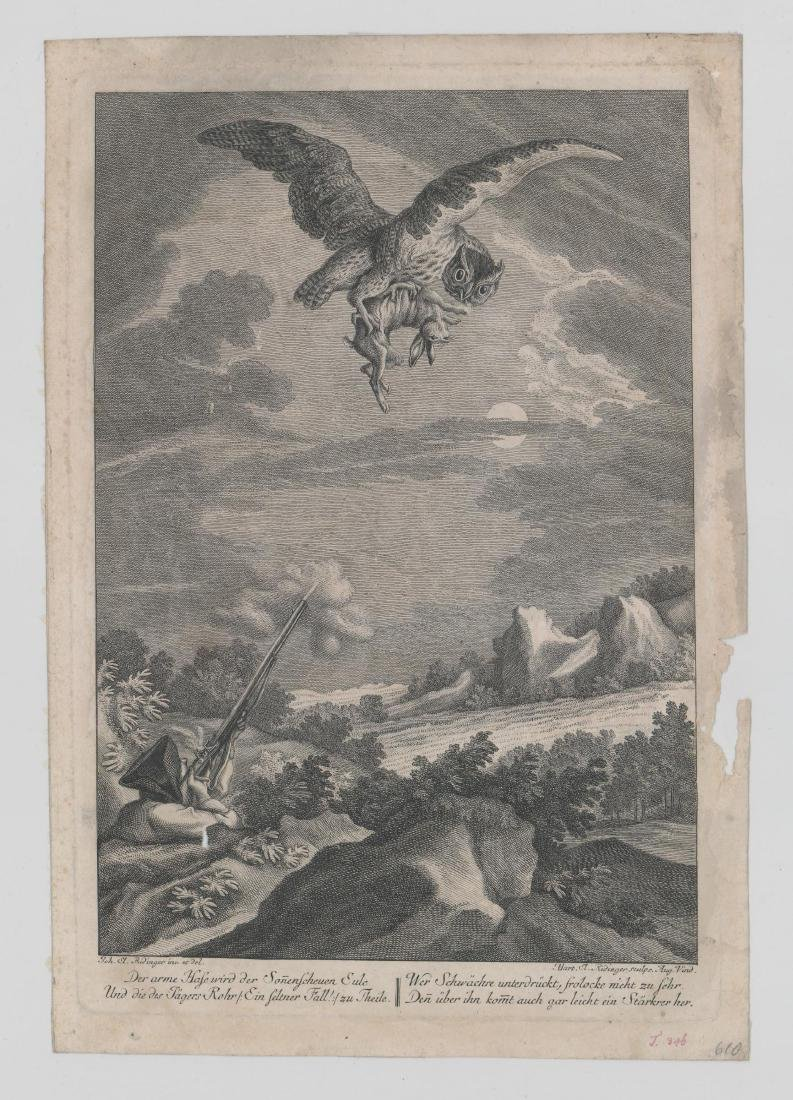 A Group of Antique Prints and Engravings - 5