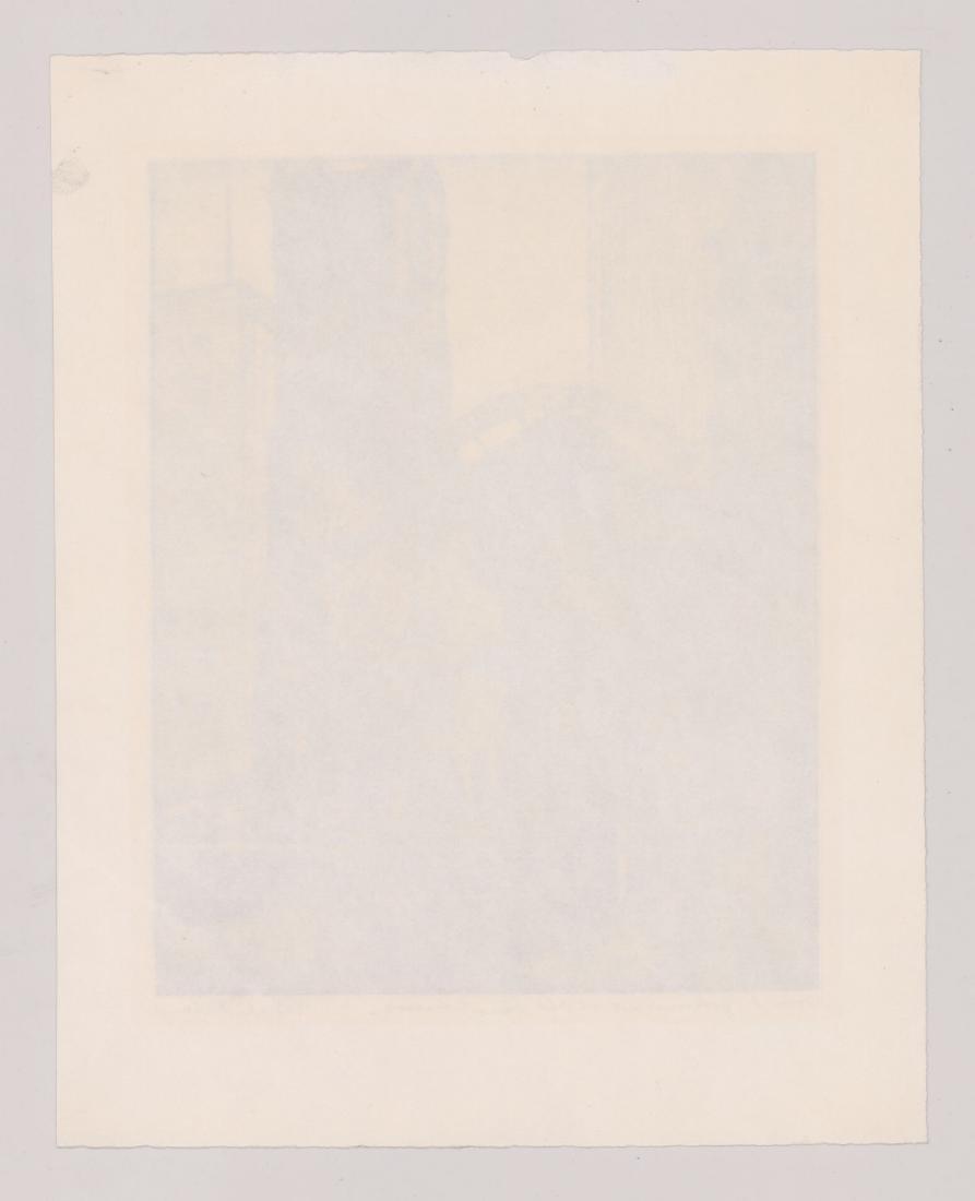 Kalman Kubinyi Lithograph - 4