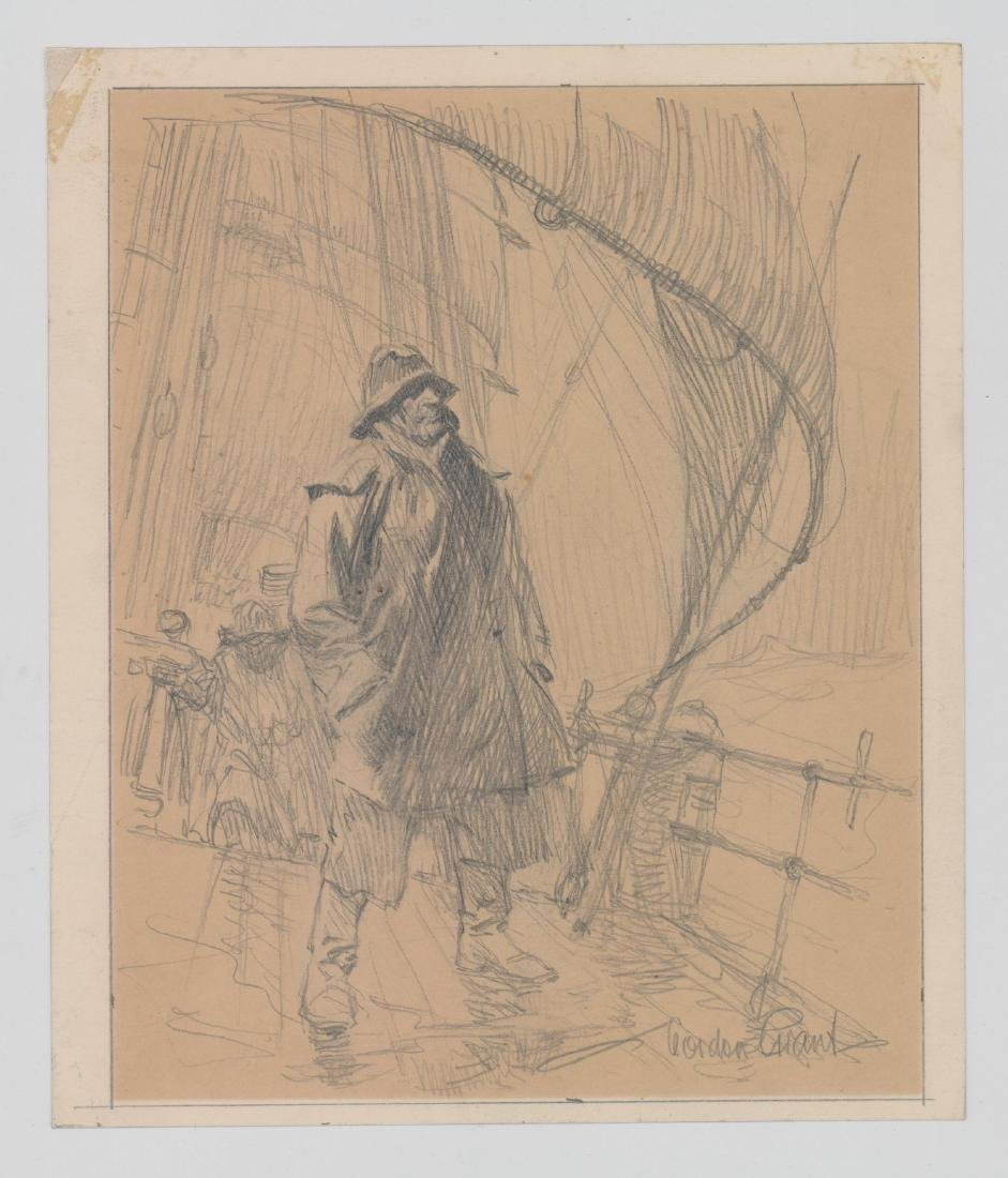 Gordon Grant Original Drawing - 2
