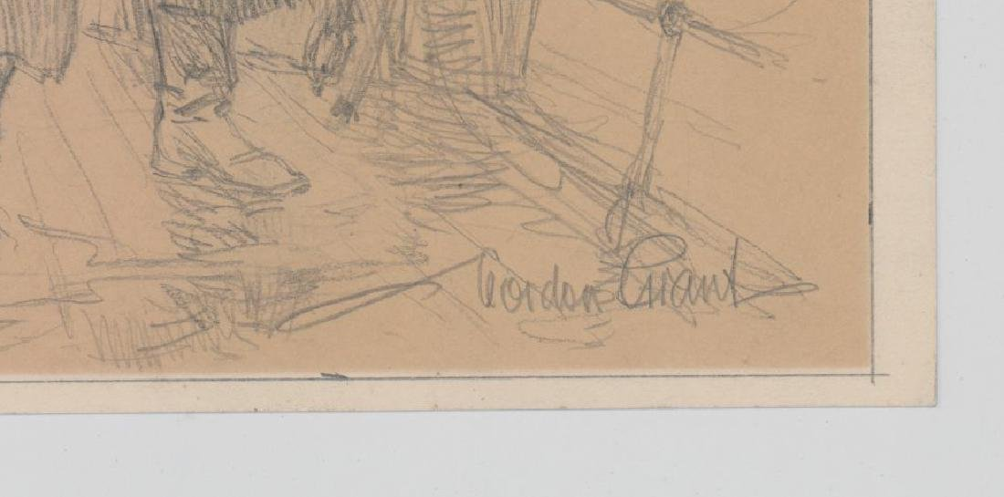 Gordon Grant Original Drawing - 3